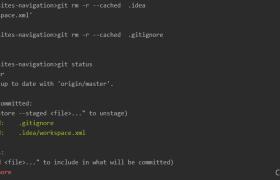 个人总结的gitignore忽略文件重新生效(亲测有效)